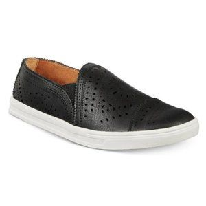 American Rag Black Shannen Slip-On Perforated Pattern Casual Sneakers Size 11